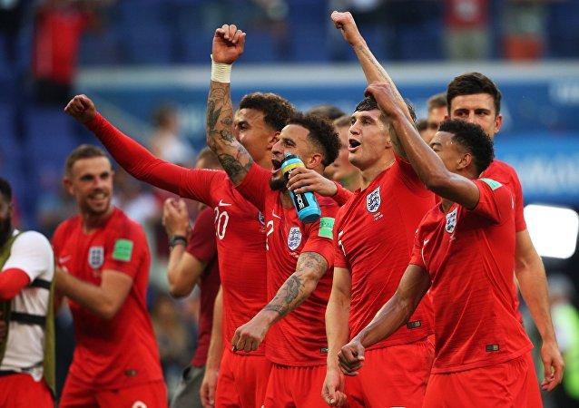 Angličtí fotbalisté
