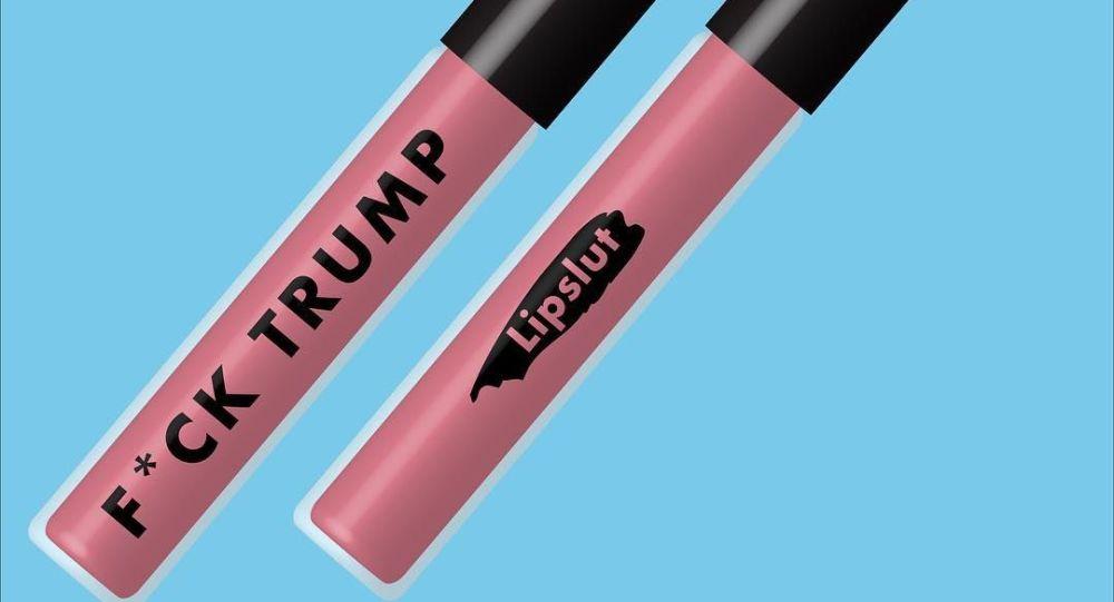 Rtěnka Fuck Trump od Lipslut