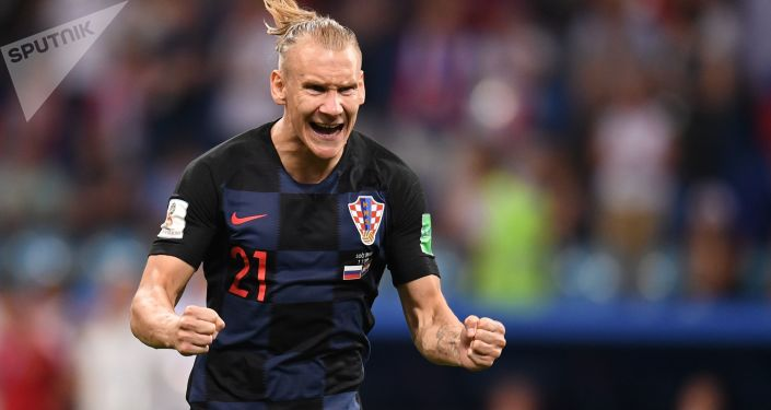 Chorvatský fotbalista Vida