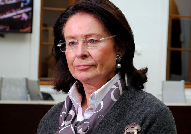 Poslankyně ODS Miroslava Němcová
