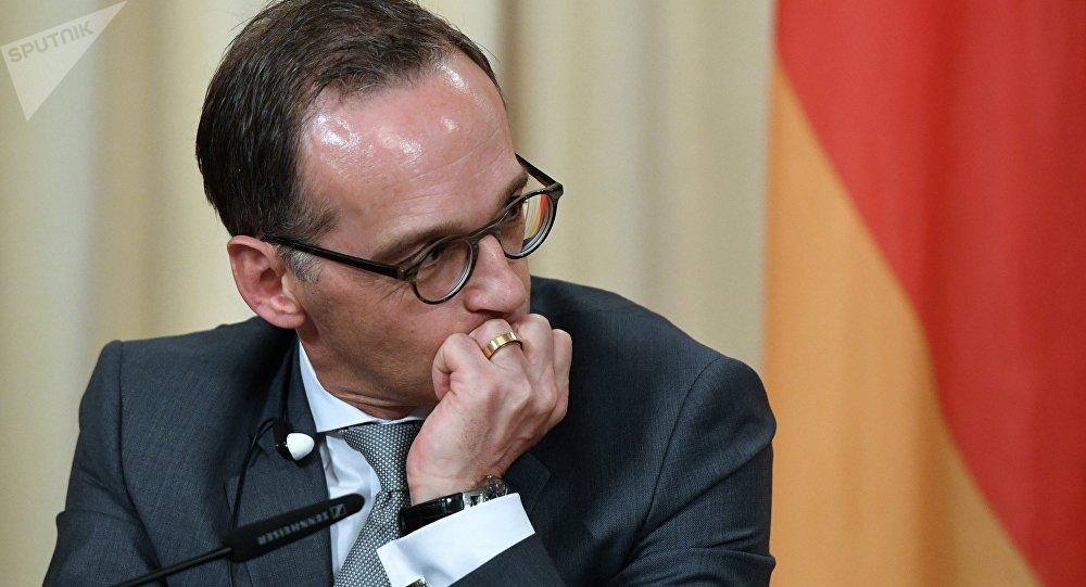Ministr zahraničních věcí Německa Heiko Maas
