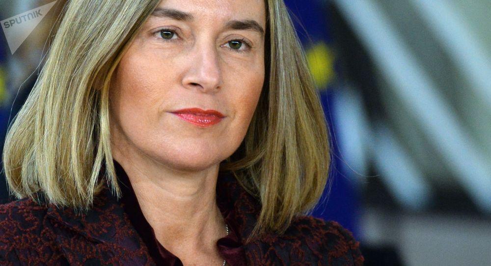 Šéfka zahraniční politiky Európské unie Federica Mogheriniová