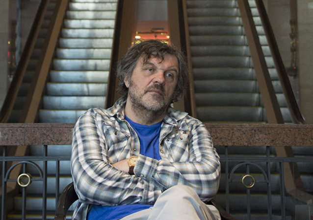 Srbský režisér a hudebník Emir Kusturica
