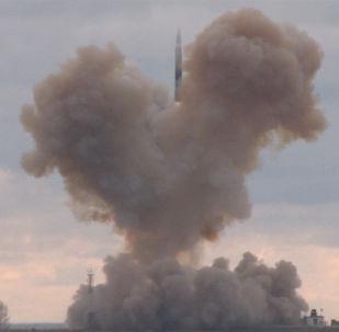 Start nejnovější rakety Avangard