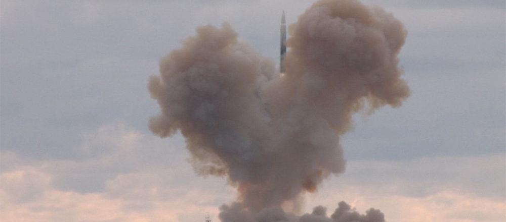Start rakety Avangard
