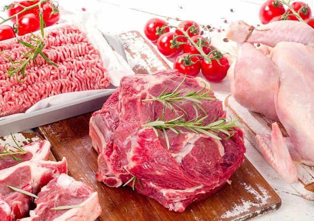 Různé druhy masa
