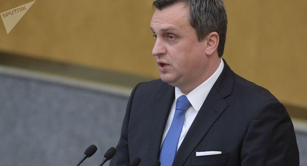 Předseda slovenského parlamentu Andrej Danko (SNS)
