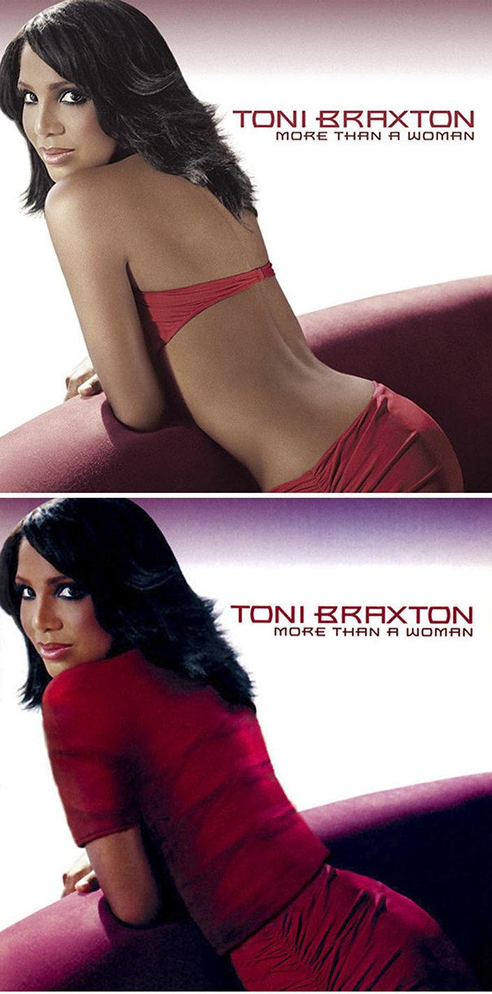 Zpěvačka Toni Braxtonová