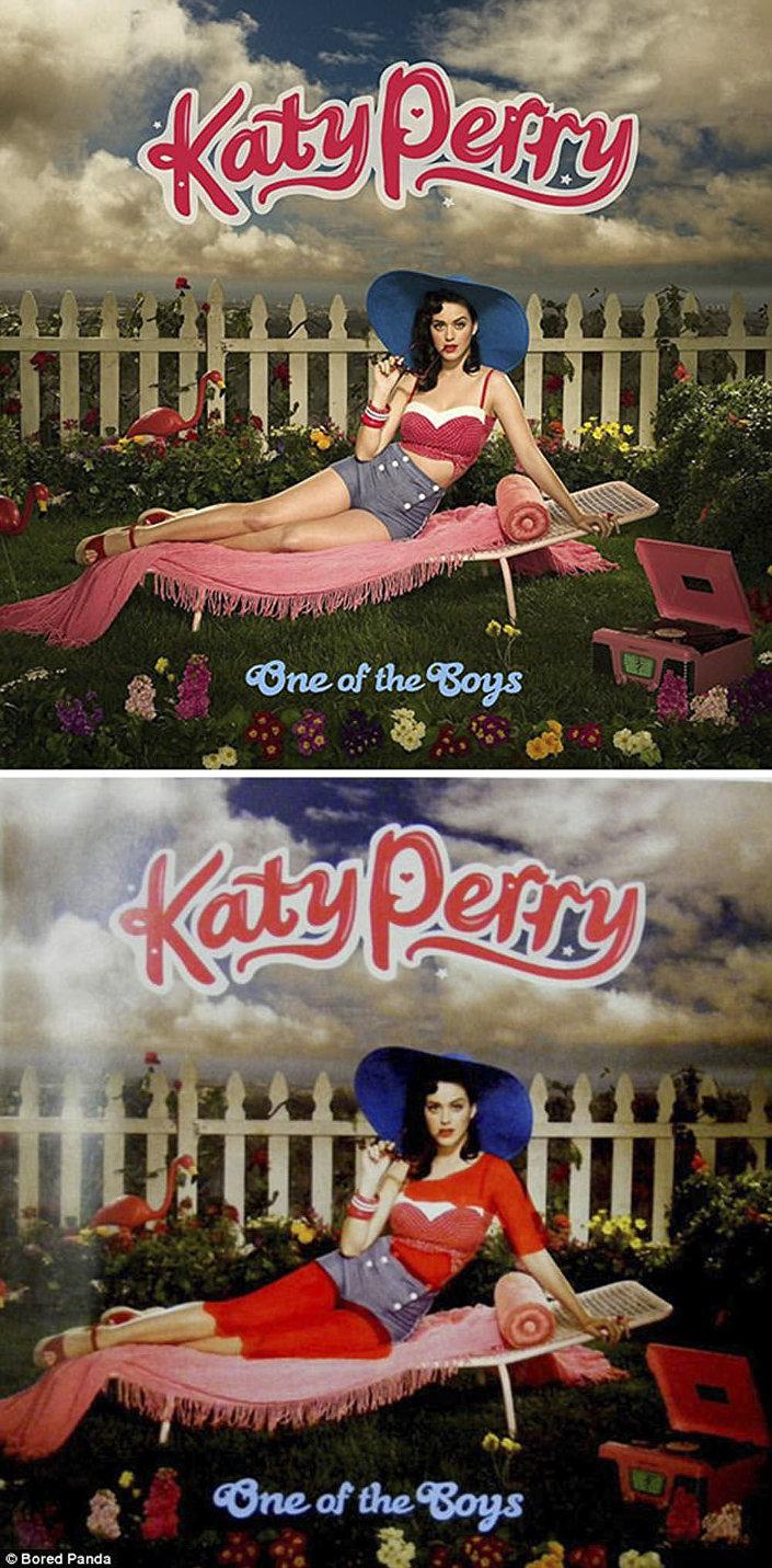 Zpěvačka Katy Perryová