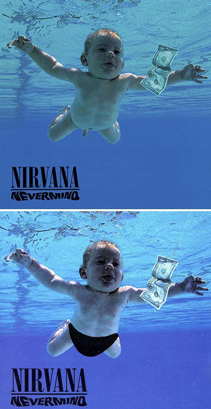 Obálka alba americké kapely Nirvana