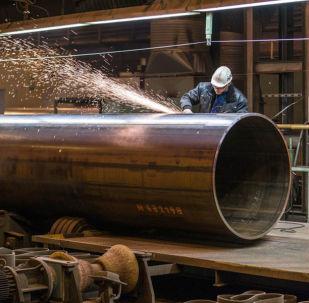 Trubky pro plynovod Severní proud 2