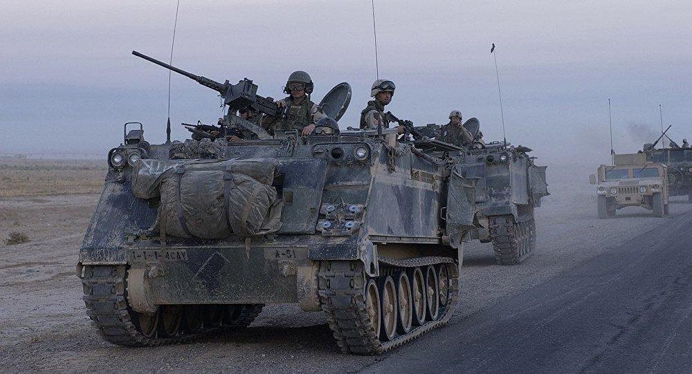 M113 v Iráku. Ilustrační foto