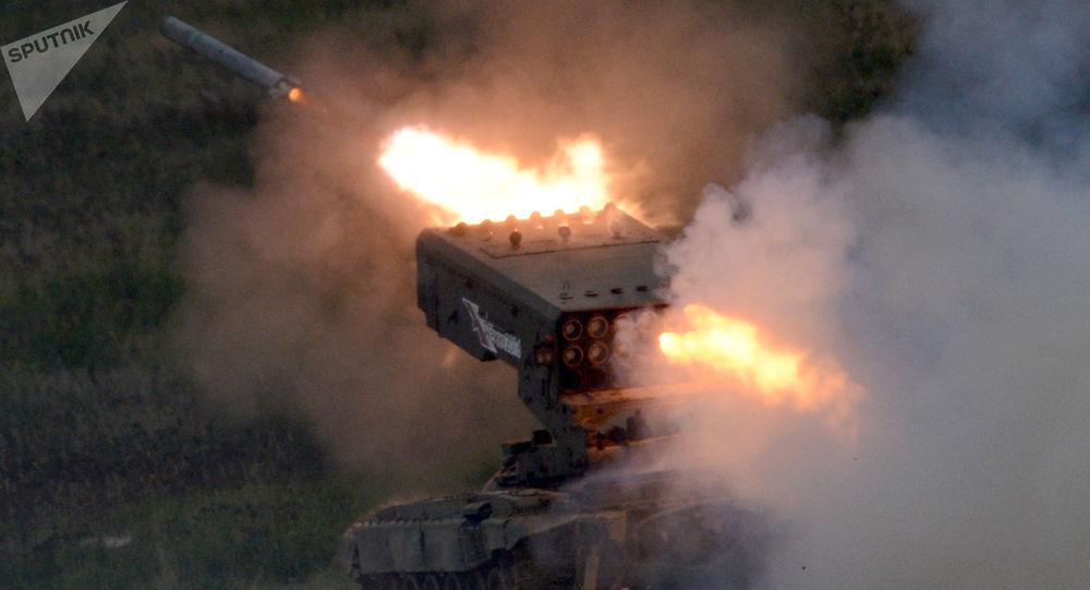 Plamenomet TOS-1A Solntsepek