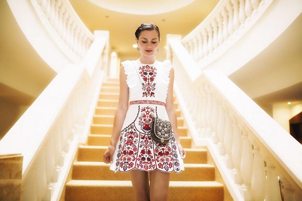 Ukázka krásných šat od Jaroslavy Wurll Kocanovej
