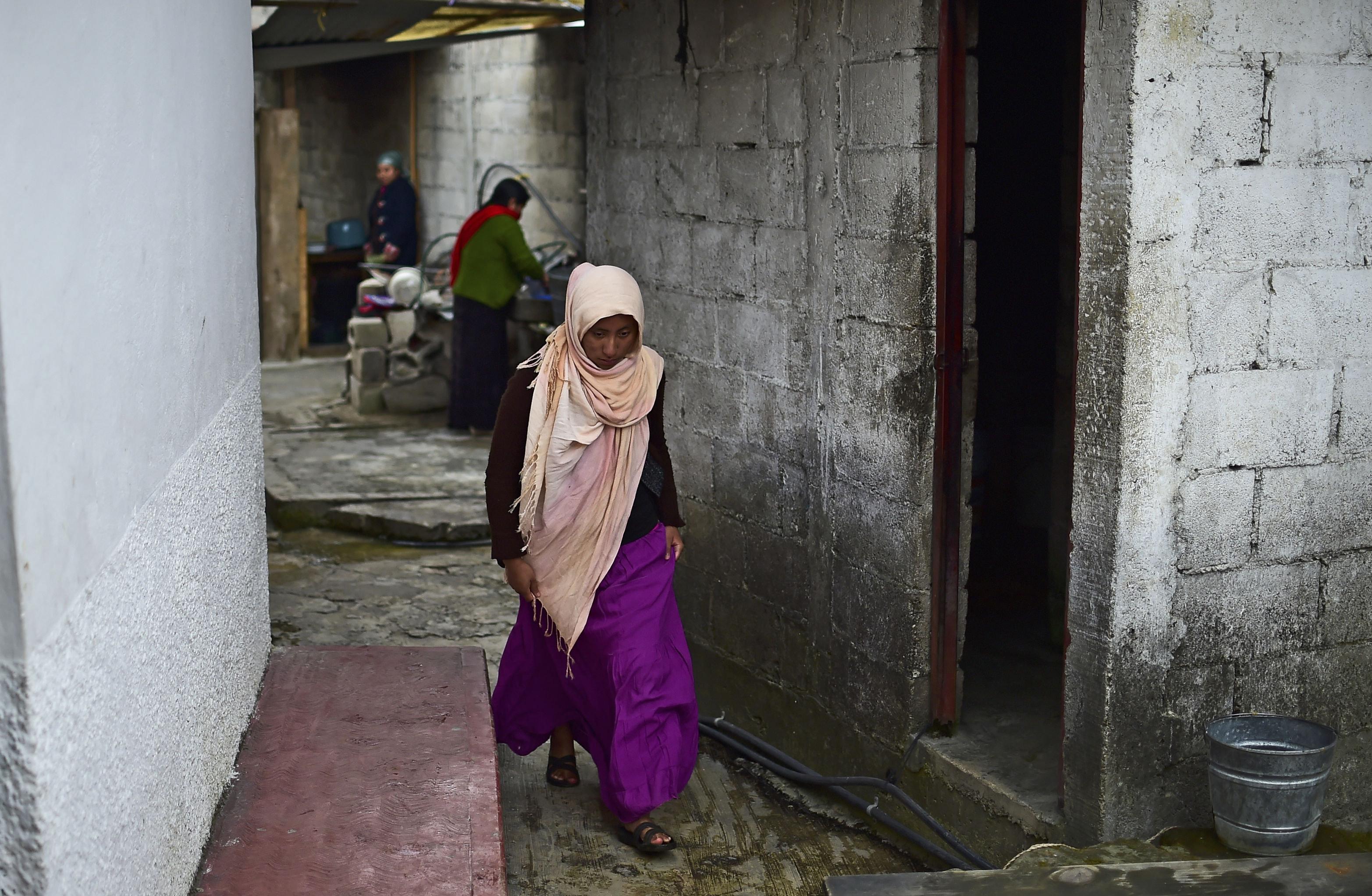 Muslimka ve městě San Cristobál