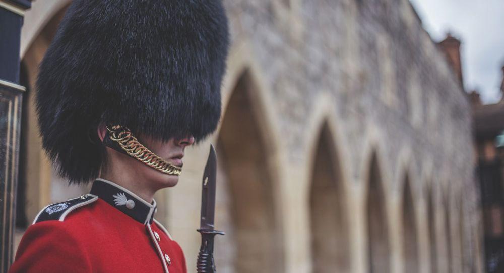 Britský člen gardy