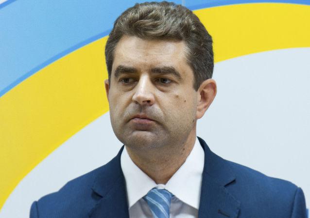 Ukrajinský ambasador v České republice Jevhen Perebyjnis