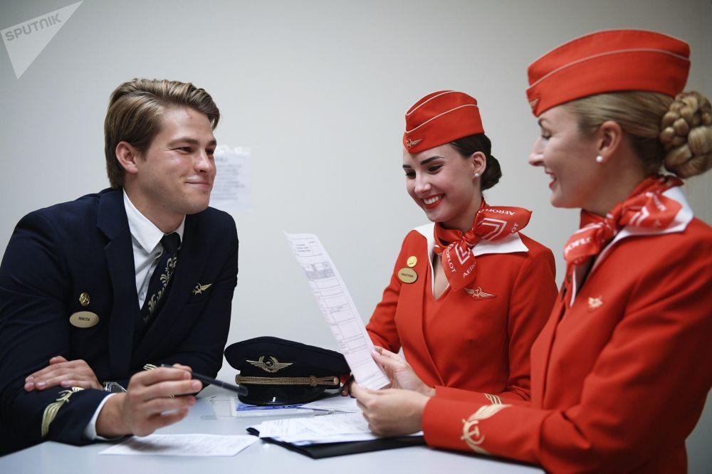 Když pracujete v nebi, musíte být na nejvyšší úrovni, aneb jak Aeroflot školí personál