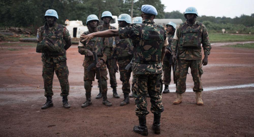 Vojáci misi MINUSCA v SAR