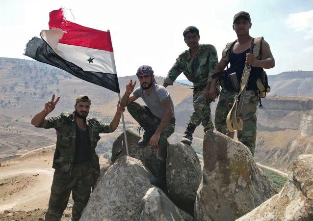 Syrští vojáci. Ilustrační foto