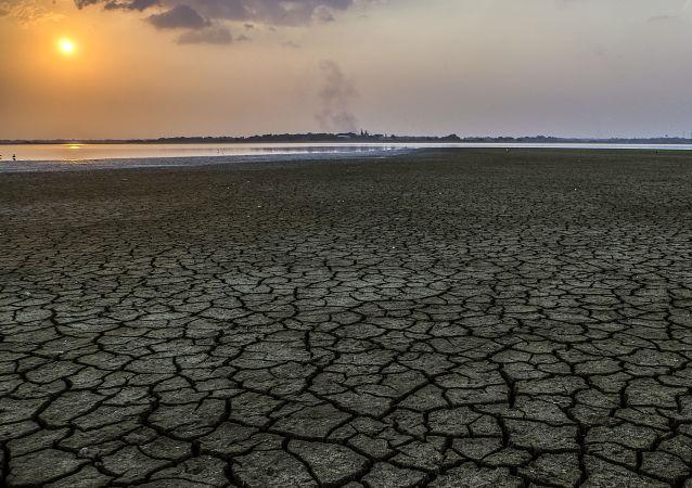 Sucho v Kolumbii. Ilustrační foto
