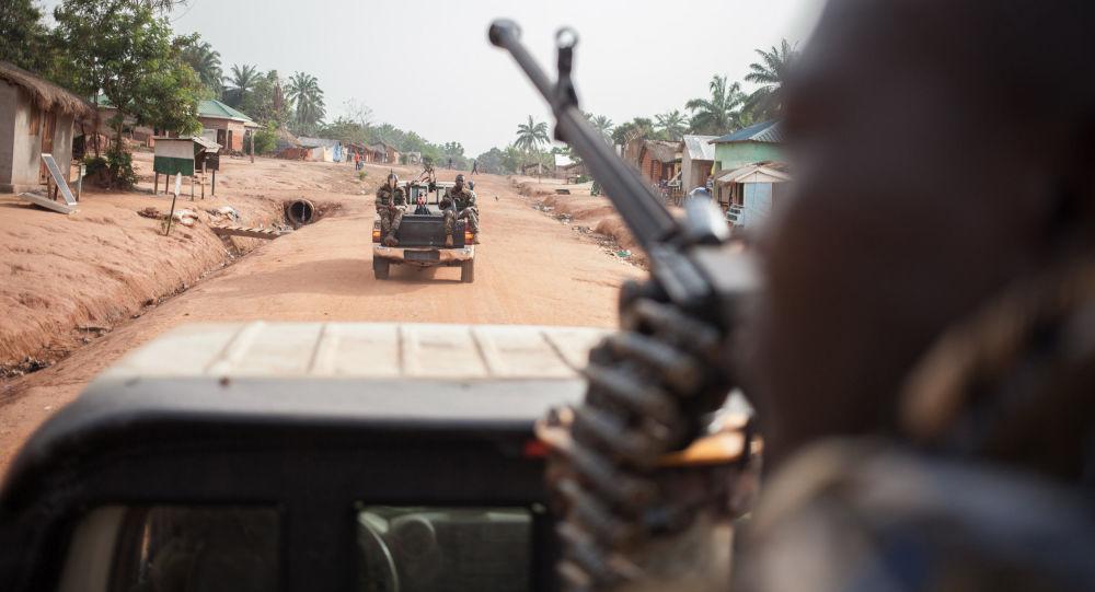 Vojáci ve Středoafrické republice. Ilustrační foto