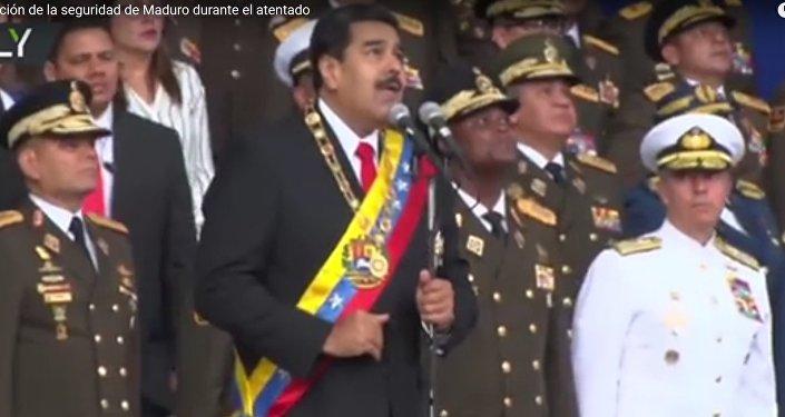 V Caracasu došlo k atentátu na Madura