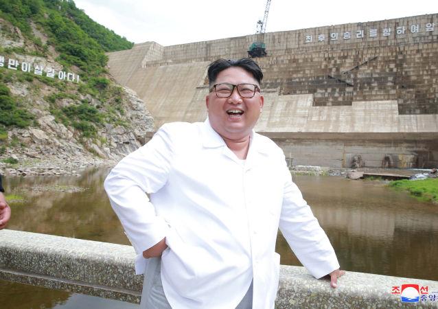 Severokorejský vůdce Kim Čong-un