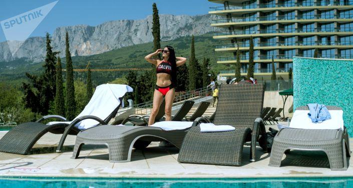 Pětihvězdičkový hotel Mriya Resort & Spa v Jaltě, Krym