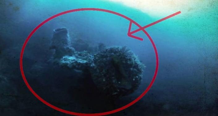 V bermudském trojúhelníku byla objevena mimozemská loď (VIDEO)