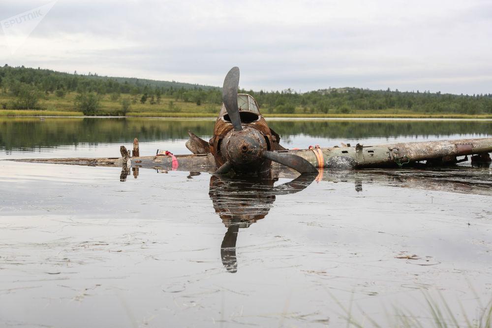 Ze dna do nebe. Za Velké vlastenecké války sestřelený Il-2 znovu poletí