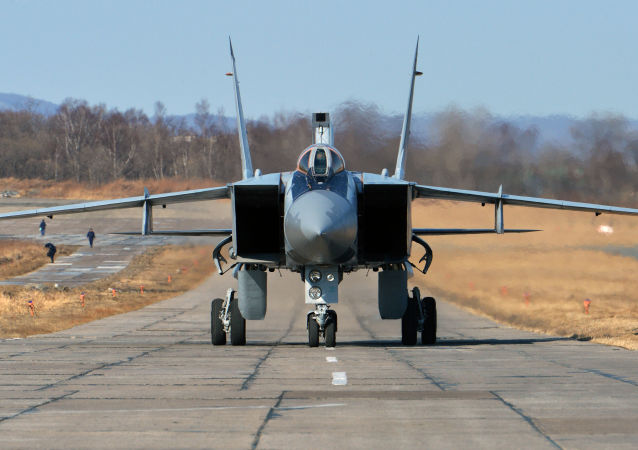 Ruská stíhačka MiG-31