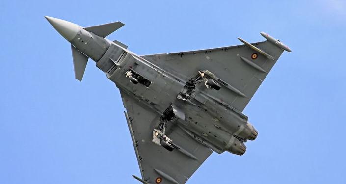 Španělská stíhačka Eurofighter Typhoon