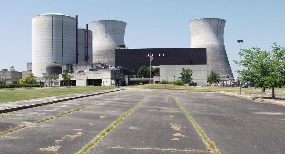 Nedostavená jaderná elektrárna Bellefonte, stát Alabama, USA