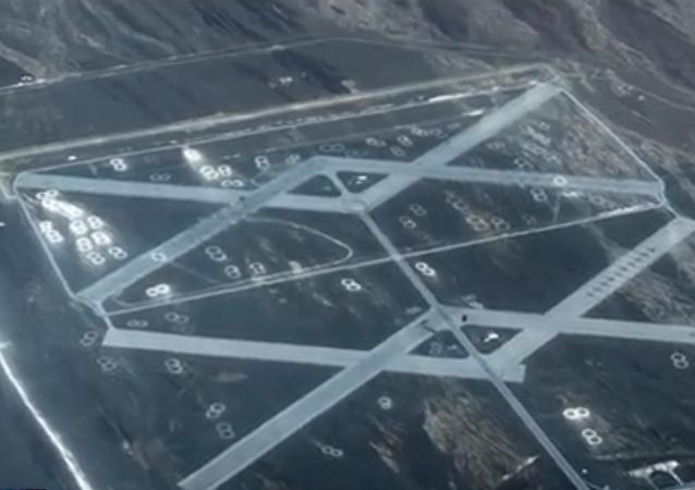 V poušti Gobi našli záhadnou vojenskou základnu (VIDEO)