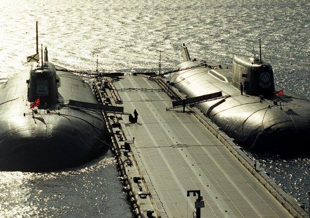 Ruské jaderné ponorky