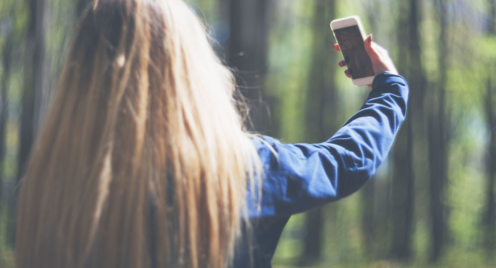 Selfie. Ilustrační foto