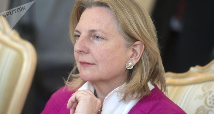 Ministryně zahraničních věcí Rakouska Karin Kneisslová
