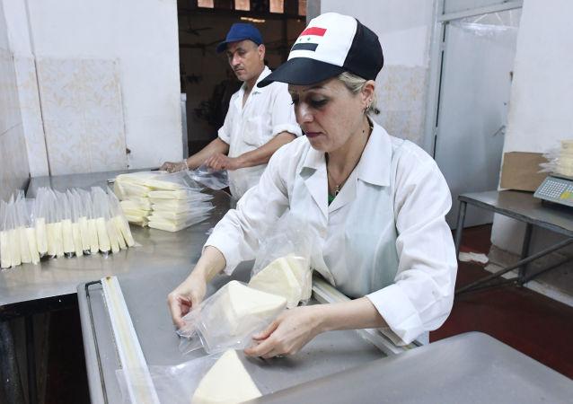 syrská mlékarna