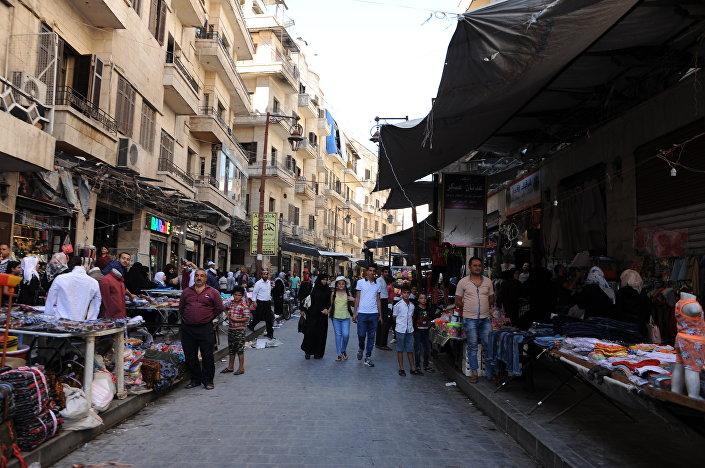 Starý trh v Aleppu
