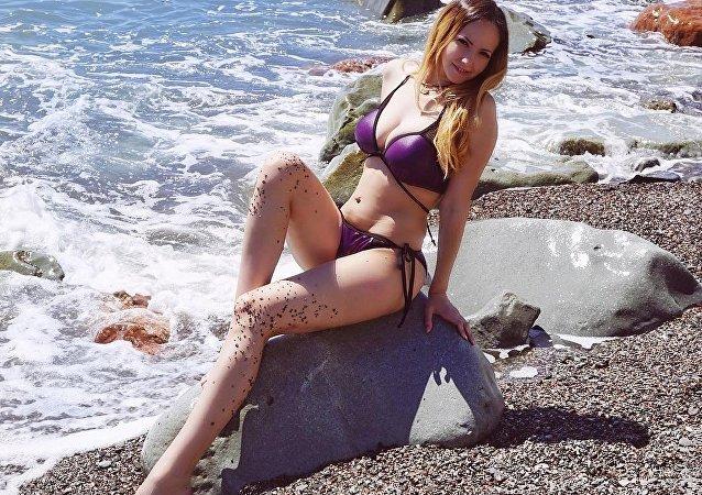 Krymská blogerka Alena Bardovskaja