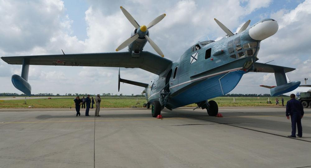 Ruské protilodní letadlo Be-12