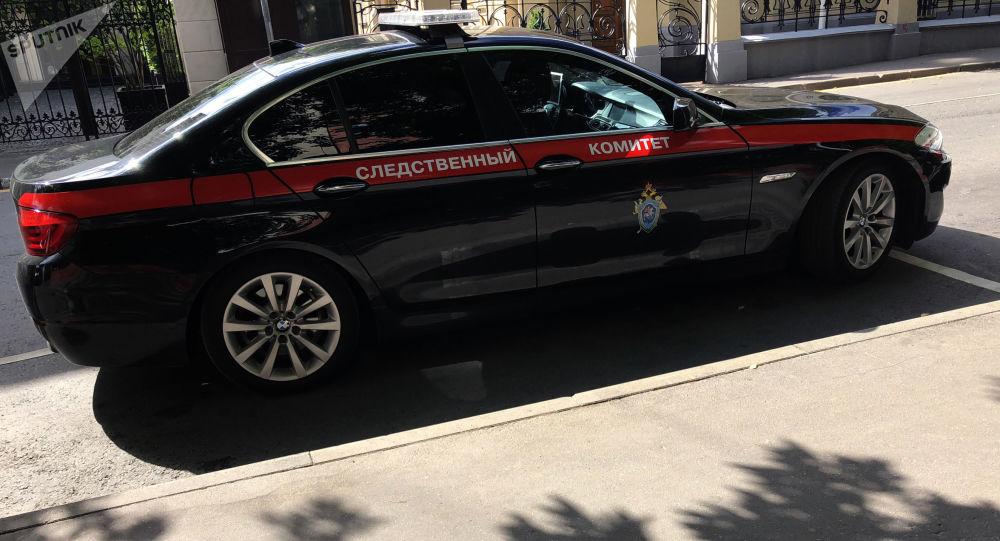 Auto vyšetřovacího výboru RF.