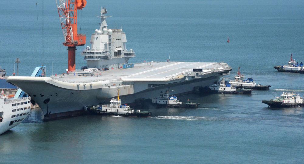 Čínská letadlová loď Type 001A