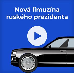 Nová limuzína ruského prezidenta