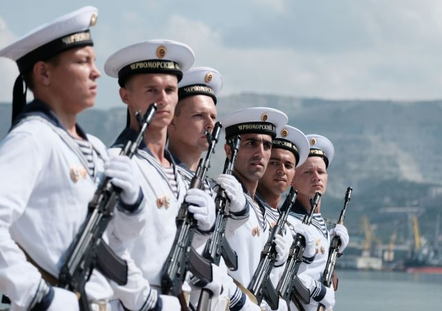 Ruští námořníci. Ilustrační foto