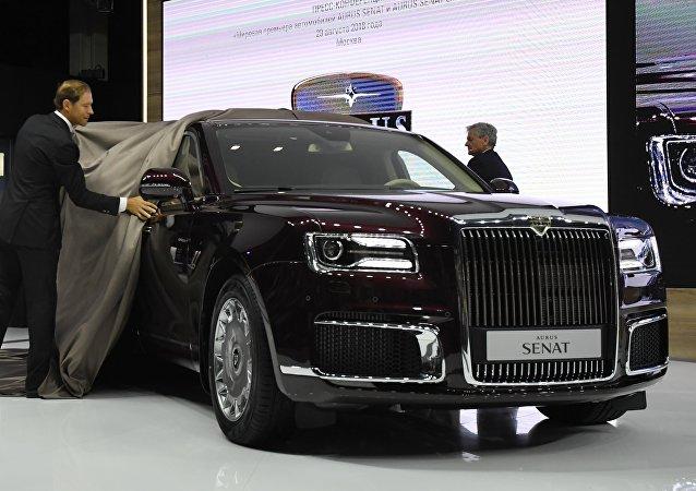 """Zlato Ruska"": Sedan a limuzína Aurus pro prezidenta"