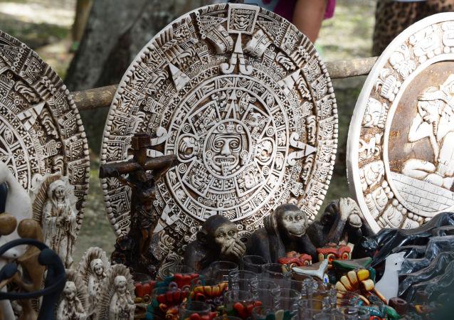 Suvenýry mayské civilizace. Ilustrační foto