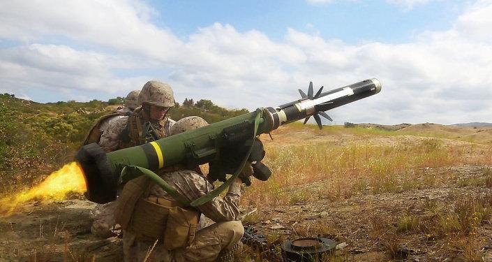 Protitankový raketový komplet FGM-148 Javelin