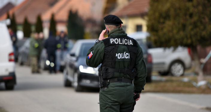 Slovenská policie. Ilustrační foto